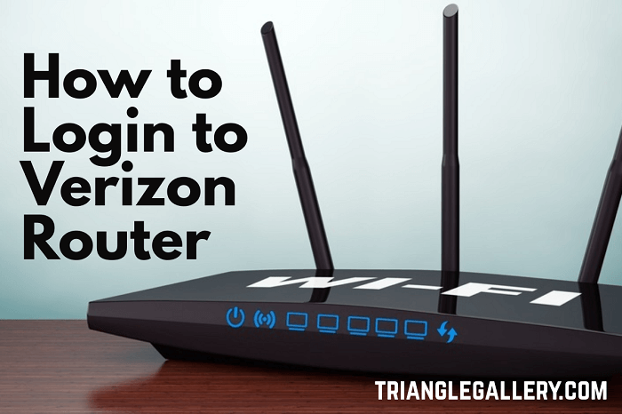 how to login to verizon router